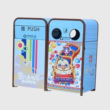浙江省绍兴市塑料垃圾桶-塑料垃圾桶厂家-洛阳中星