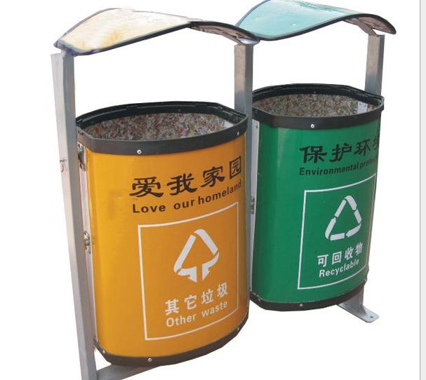 江西省九江市分类户外垃圾桶 厂家-洛阳中星